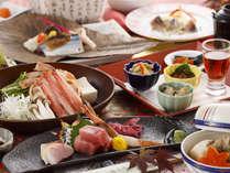 【星の膳】10月からの新メニュー!「生ずわい蟹のしゃぶしゃぶ」