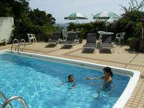 ◆テラス◆海から上がって涼むのにとっても気持ちいいプール