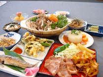 *【夕食全体例】10品程度のお食事をご用意いたします。