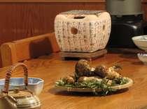 【豪快!秋の味覚と新鮮魚介】 松茸&北三陸舟盛り