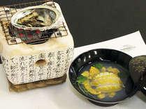 【選べるアワビ料理 踊り焼・豪快お吸い・お造り】 アワビ&船盛 【新鮮!活アワビ】