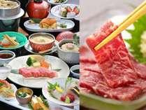 【人気ナンバー1】黒毛和牛会席&【人気ナンバー1】馬刺しのセット☆旬の朝倉野菜や魚介も堪能♪
