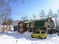 冬の建物外観
