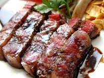 料理長こだわり!特選和牛のステーキ★ソースと肉の旨味が絶妙です+