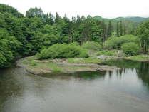 川遊びもできる河川
