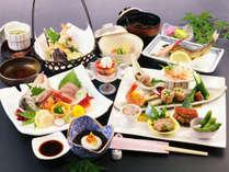 【じゃらん夏SALE】《スタンダード》ヘルシーに味わう旬の会席【風の舞-kaze-】全客室富士山ビュー