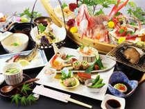 【しずおかクーポン対象】《2大グルメ》あわび・舟盛付スペシャル会席【季の舞-toki-】全客室富士山ビュー
