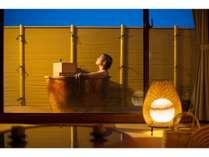和室10畳タイプ露天風呂付客室♪