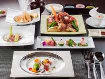 フレンチ懐石コース伊豆の海鮮料理♪