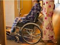ユニバーサルデザイン♪車椅子でお部屋にも入室可能★☆