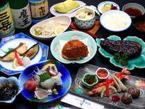 スタンダードプランは、地元の港や浜名湖で獲れた新鮮な魚貝類を中心とした和会席をご用意致します♪