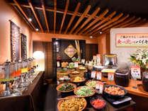 ■朝食バイキング■ふっくらホッカホカ「ご飯食べ比べ」のコーナーも!