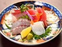 日本海近郊で獲れた海の幸をお造りで味わう