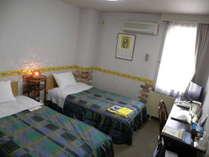 かわいい雰囲気の409号室(ツインのみ)