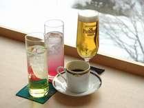 【「湯の里」5周年記念プラン】特典のお飲物(イメージ) お食事処「湯の里」にてご提供いたします