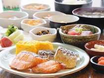 朝食バイキング・和食の一例