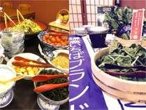 朝食バイキングイメージ!鎌倉いちばブランド野菜のしゃぶしゃぶも登場♪