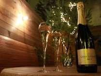 【2月バレンタイン】バレンタインの夜に2人きりの特別な思い出を!フルボトルワイン付きプラン