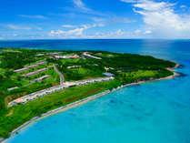■約40万平米すべてが国立公園内に有する日本最南端のビーチリゾート。