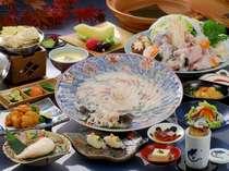 【今の時期だけ!3月末まで】 ◆ふぐフルコースプラン◆ 本場下関でふぐの美味しさ色々味わえます!