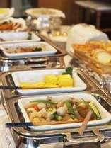 アーク自慢の朝食バイキング♪朝からもりもり食べましょう(*^^)