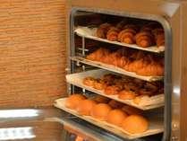 レストラン中にパンのいい香りです♪
