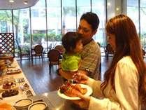 ファミリープランはお子様分の朝食サービスです