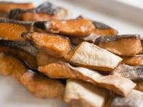 朝食一例 魚料理