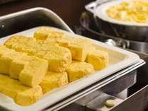 朝食一例 卵料理
