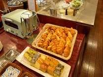 <朝食バイキング>お子様や情勢に嬉しいホテル手作りパウンドケーキ♪