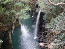 高千穂峡:真名井の滝