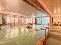 【大浴場☆朝の湯】滑りにくく清潔な畳風呂!万が一転んでも安心です!