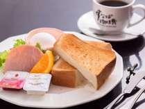 すなば珈琲での朝食一例