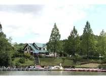 湖からの宿