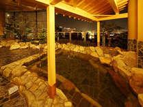【お得に宿泊♪ 朝食付】 市内希少の天然温泉が入り放題! 世界新三大夜景は露天風呂で♪