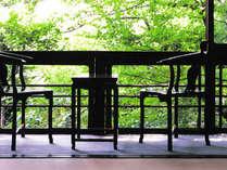 お部屋から四季折々の景色を堪能できる。。