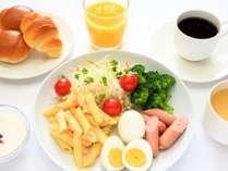 無料朝食サービス(時間 6:30~9:00)
