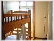 個室C 2段ベッドのみのとても小さなお部屋です