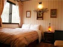 【セミダブル】ピンクを基調とし可愛らしく演出したお部屋/客室ロザリンデ