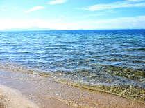 琵琶湖で最も美しいマキノサニービーチ!湖水浴するなら吉平へGO~♪(画像はイメージです。)