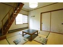 グループで安く泊まるには最適なロフト付き和室です