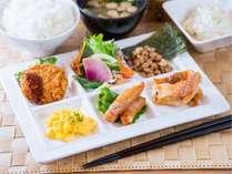 ◆健康朝食バイキング◆和・洋食をご用意しております♪