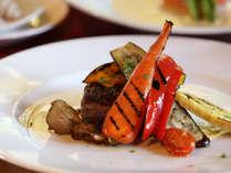 ■イタリアンレストラン【ルポゼ白馬】お食事一例