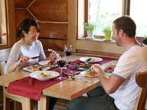 ◆景色を見ながらレストランでお食事も