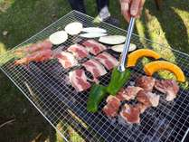 BBQ食材付きプラン