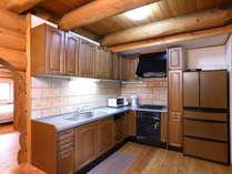 H棟 キッチン広いキッチンでお料理タイムも楽しくお過ごしいただけます