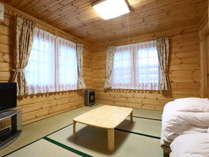 K棟 1F和室はご家族連れに人気のスペース