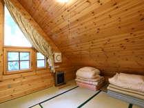 K棟 2F和室は勾配屋根が人気です