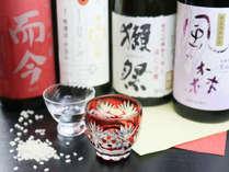 自慢のお酒◆女性でも飲みやすい奈良の「風の森」をはじめ、様々な種類を取り揃えております