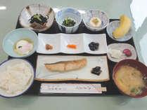 【朝食付プラン】宿で朝風呂&朝食…少しゆっくりと1日をスタート♪